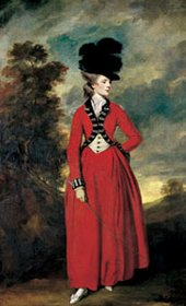 Joshua Reynolds Lady Worsley about 1776