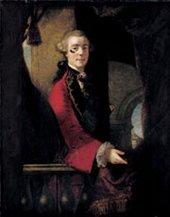 Joshua Reynolds Lord Cathcart 1753-5