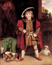 Joshua Reynolds Master Crewe as Henry VIII about 1775