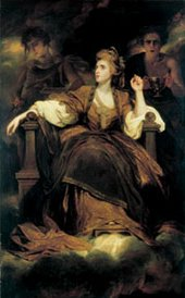 Joshua Reynolds Mrs Siddons as the Tragic Muse 1784 or 1789