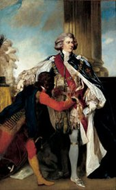 Joshua Reynolds Prince George with Black Servant 1786–7