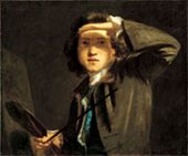 Joshua Reynolds Self-Portrait about 1747-8