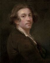 Joshua Reynolds Self Portrait about 1750