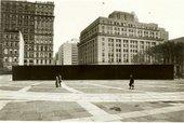 Lost Art: Richard Serra - showing length of Tilted Arc
