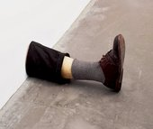 Robert Gober Untitled Leg 1989