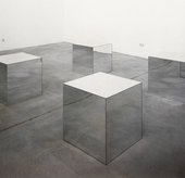 Robert Morris Untitled (Mirrored Cubes) 1965/1971