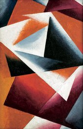 Lyubov Popova Painterly Architectonic 1918