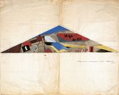 Aleksandr Rodchenko Design for an aircraft hangar 1917
