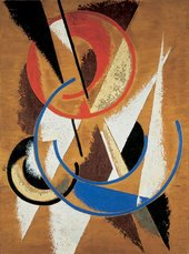 Liubov Popova Space-Force Construction 1921