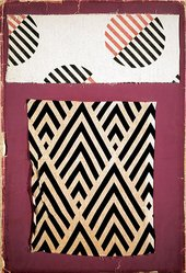 Lyubov Popova Fabric samples 1923-1924 samples of two fabrics with an abstract design