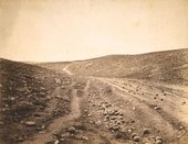 Roger Fenton The Valley of the Shadow of Death 1855