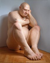 Ron Mueck Big Man 2000