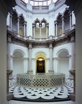 The Rotunda with new central staircase