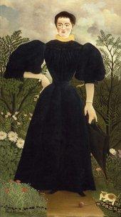Henri Rousseau Portrait of a Lady