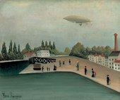 Henri Rousseau Ivry Quay 1907