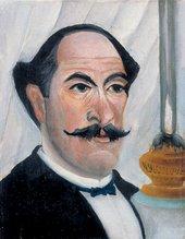 Henri Rousseau - Portrait of the Artist 1900-3