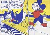 Roy Lichtenstein Look Mickey 1961