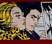 Photo of In The Car by Roy Lichtenstein