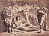 Alexander Runciman The Death of Oscar 1772