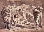 Alexander Runciman The Death of Oscar 1772
