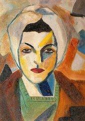 Saloua Raouda Choucair Self Portrait 1943