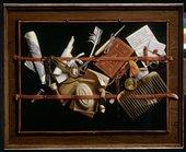 Samuel van Hoogstraten Trompe l'oeil 1666