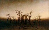 Caspar David Friedrich, The Abbey in the Oak Forest, 1809-1810