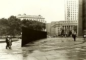 Lost Art: Richard Serra - Tilted Arc as seen from the side