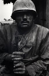 Don McCullin Shell Shocked US Marine, The Battle of Hue 1968, printed 2013