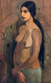 Amrita Sher-Gil Self Portrait as Tahitian 1934