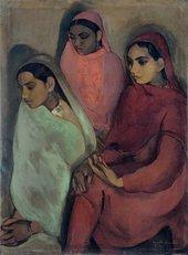 Amrita Sher-Gil Three Girls 1935
