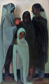 Amrita Sher-Gil Hill Women 1935