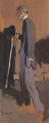 Walter Richard Sickert Aubrey Beardsley 1894 Oil on canvas