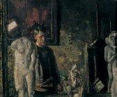 Walter Richard Sickert The Painter in his Studio 1907 Oil on canvas