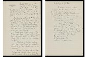 Letter from Walter Sickert to Ethel Sands