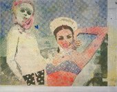 Sigmar Polke Girlfriends (Freundinnen) 1965/66