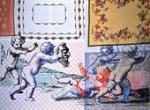 Sigmar Polke Putti Playing with a Mask 2002