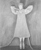 Silke Otto-Knapp, Single Figure (Silver) [detail] 2005