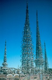 Watts Tower constructed by Simon Rodia