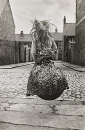 Sirkka-Liisa Konttinen, Girl on a Spacehopper (Byker), 1971, printed 2012