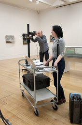Trainee on the Skills for the Future training programme at Tate