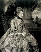 John Raphael Smith after Joshua Reynolds Mrs Montagu 1776