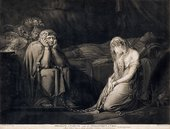 ohn Raphael Smith after Henry Fuseli Belisane and Percival