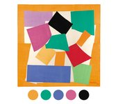 Henri Matisse The Snail 1953. Gouache on paper, cut and pasted on paper mounted on canvas. Tate colour palette quiz 2014
