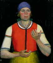 Kazimir Malevich Woman Worker 1933