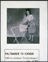 Gerhard Richter, Folding Dryer 1962