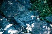 Stones in pathway, Broughton House