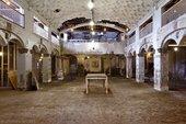 Stony Island Bank dilapidated interior before renovation