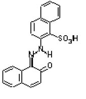 The structure of PR 49 (Na salt)