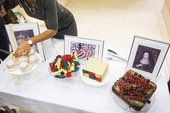 Tate Britain art inspired cake by Susan Holtham